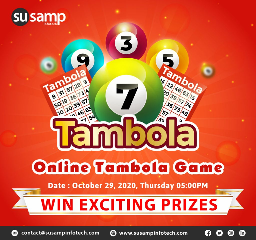 Tambola Event At Susamp Infotech