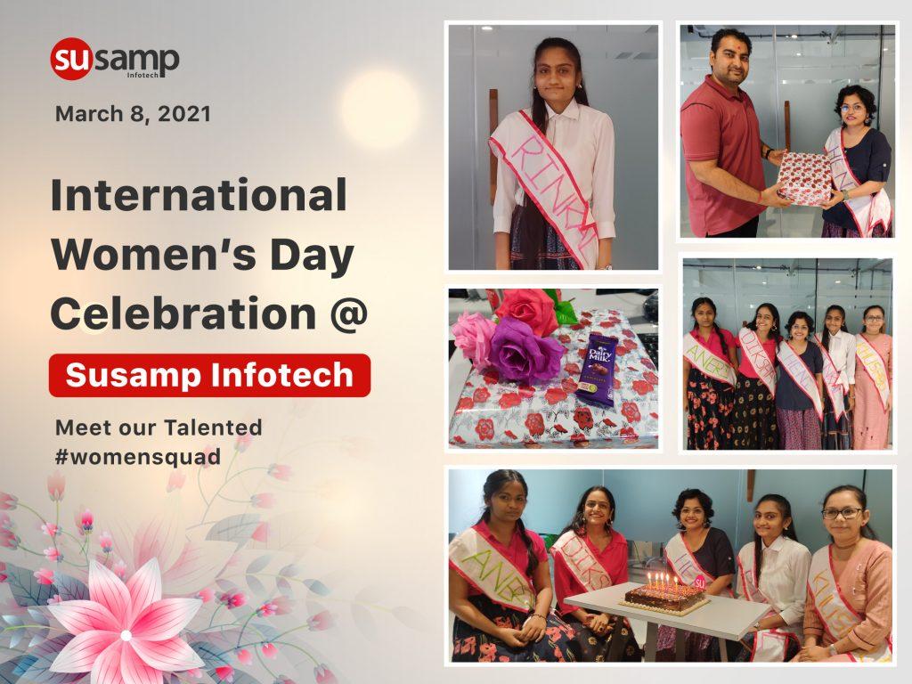 Women's day at Susamp Infotech